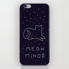 Cat Constellation (Meow Minor)  iPhone & iPod Skin