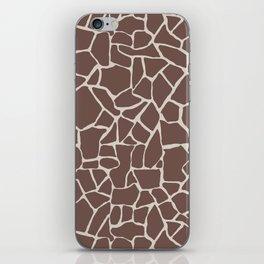 Brown Elephant iPhone Skin
