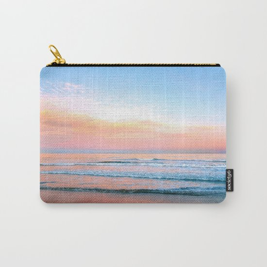Pastel Ocean Carry-All Pouch