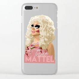 Trixie Mattel, RuPaul's Drag Race Queen Clear iPhone Case