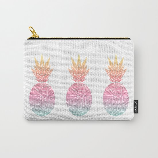 Beeniks Rays Pineapple Carry-All Pouch