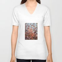serenity V-neck T-shirts featuring serenity by Françoise Reina