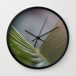 bridge of leaf Wall Clock