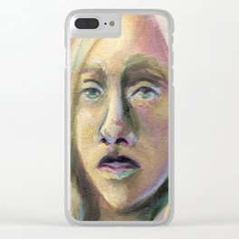 A Colorless Youth Clear iPhone Case