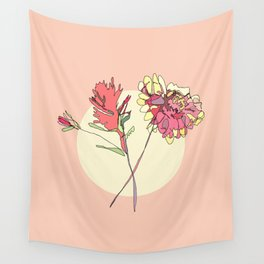 Wildflowers Wall Tapestry