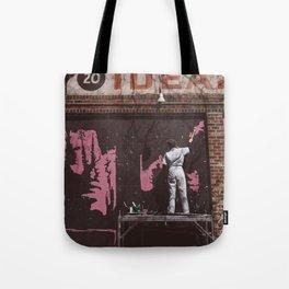 New York Street Artist II Tote Bag