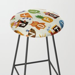Alphabet Bar Stool