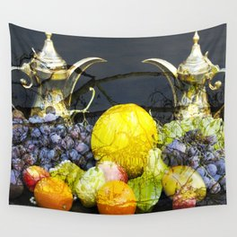 Surreal Food Still Life Wall Tapestry