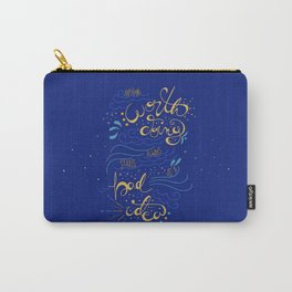Anything Worth Doing - Nikolai Lantsov Carry-All Pouch