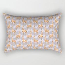 giraffe chevron Rectangular Pillow
