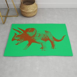 Triceratops Rug