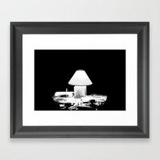 In My Secret Framed Art Print