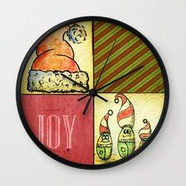 Lunchbox Napkin Art3 Wall Clock