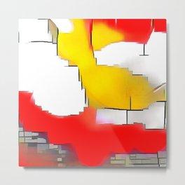 Abstract #13 Metal Print