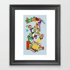 NERD issimo Framed Art Print