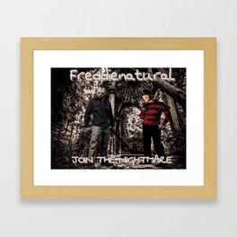 Freddienatural Framed Art Print