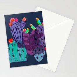 Lovebirds In The Desert Stationery Cards