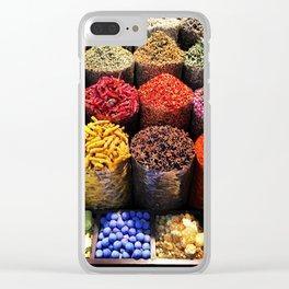 Spicy Futures Clear iPhone Case