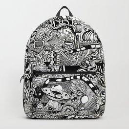 sea to space zentangle Backpack