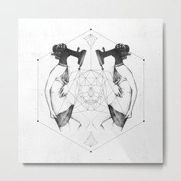 Room 7609 Metal Print