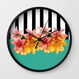 Leticia Ka 10 Wall Clock