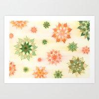 108 - Nastya Flowers Art Print