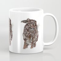 hare Mugs featuring Hare by Meredith Mackworth-Praed