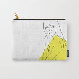 Yellow Portrait 1 Carry-All Pouch