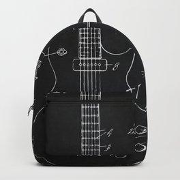Gibson Guitar Patent Les Paul Vintage Guitar Diagram Backpack