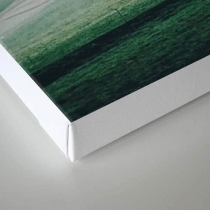 Painting on my photographs #1 Canvas Print