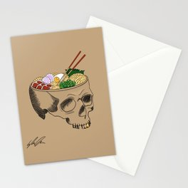 Noodles for Brains Stationery Cards