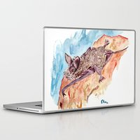 bat Laptop & iPad Skins featuring Bat by Elena Sandovici