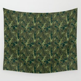 Forest Camouflage Wall Tapestry