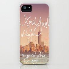 NEW YORK NEW YORK iPhone (5, 5s) Slim Case