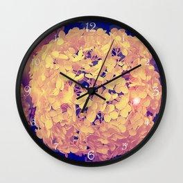 Secret Garden | Hydrangea Snowball Wall Clock