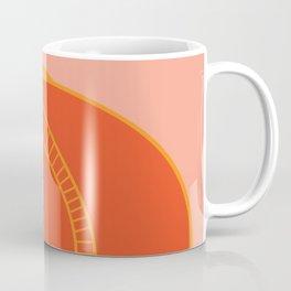 Abstract Pumpkin Pink Coffee Mug