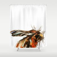 hare Shower Curtains featuring Hare by a collection. James Peart