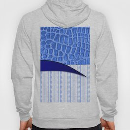 2in1 Pattern Serena blue Hoody