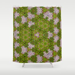 Garden pattern Shower Curtain
