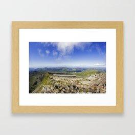 Snowdon Cafe Framed Art Print