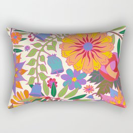 Just Flowers Lite Rectangular Pillow