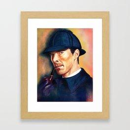 Holmes Framed Art Print