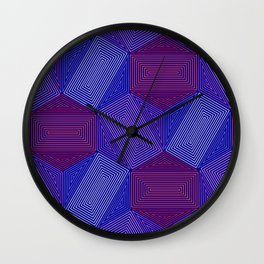 Op Art 101 Wall Clock