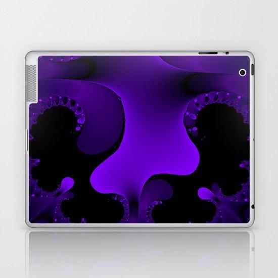 Purple Rain Fractal Laptop & iPad Skin