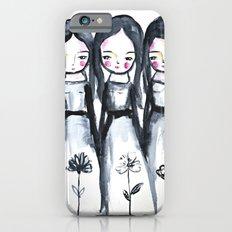 3 girls black and white Slim Case iPhone 6s