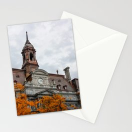 Montreal in Fall Stationery Cards