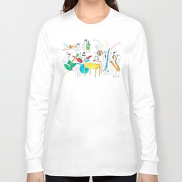 NOLA Jazz Fest 2011 Long Sleeve T-shirt