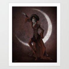 Queen Invidia Art Print