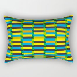 Cinetism and visual effect Rectangular Pillow