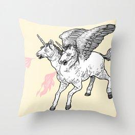 Badass Throw Pillow